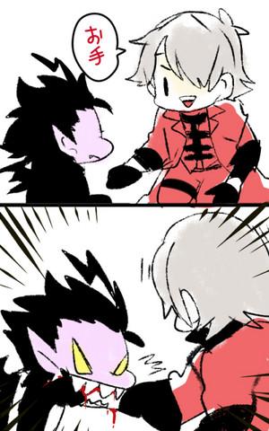 Dante and Alastor
