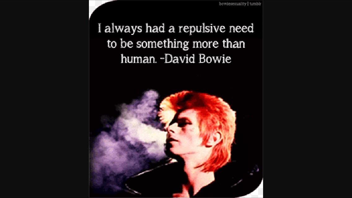 David Bowie quote - David Bowie Photo (38916507) - Fanpop