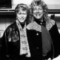 David bowie and Robert plant
