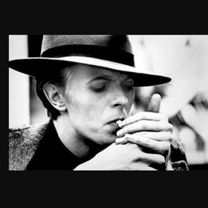 David bowie smoking