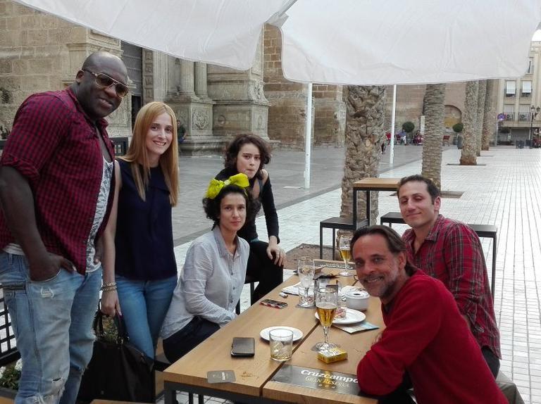 DeObia Oparei, Alexander Siddig, Rosabell Laurenti Sellers, Indira Varma, and George Georgiou