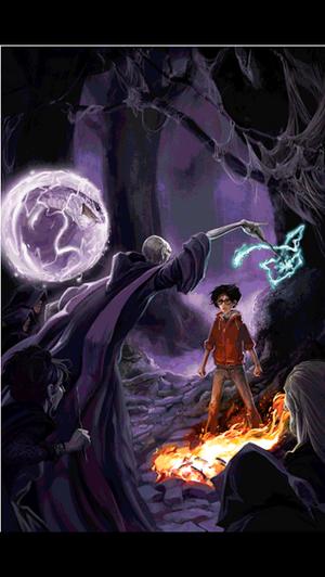 Deathly Hallows illustration