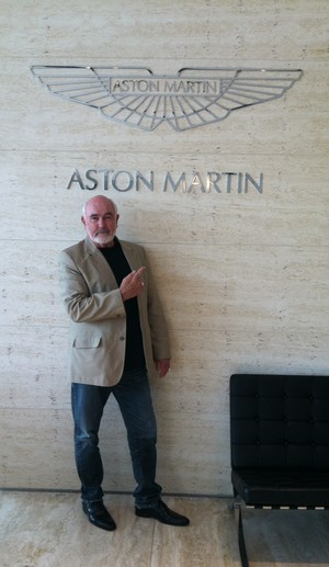 Dennis Keogh for Aston Martin
