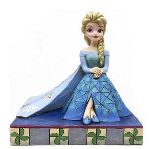 डिज़्नी Traditions फ्रोज़न Elsa Figurine द्वारा Jim किनारा, शोर