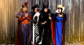 Disney's Descendants' Jafar, Cruella De Vil, Maleficent and the Evil क्वीन