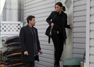 Dr. Henry morgan and Det. Jo Martinez