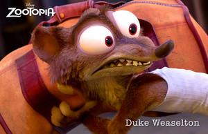 Duke Weaselton - Zootopia