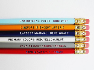 Educational Pencils