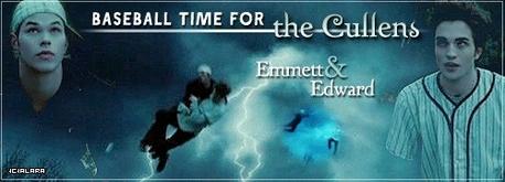 Edward and Emmett,Twilight baseball scene