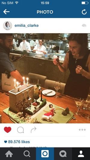 Emilia's birthday cake
