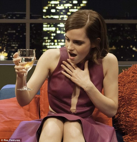 Emma Watson wallpaper probably with bare legs entitled Emma Watson interview