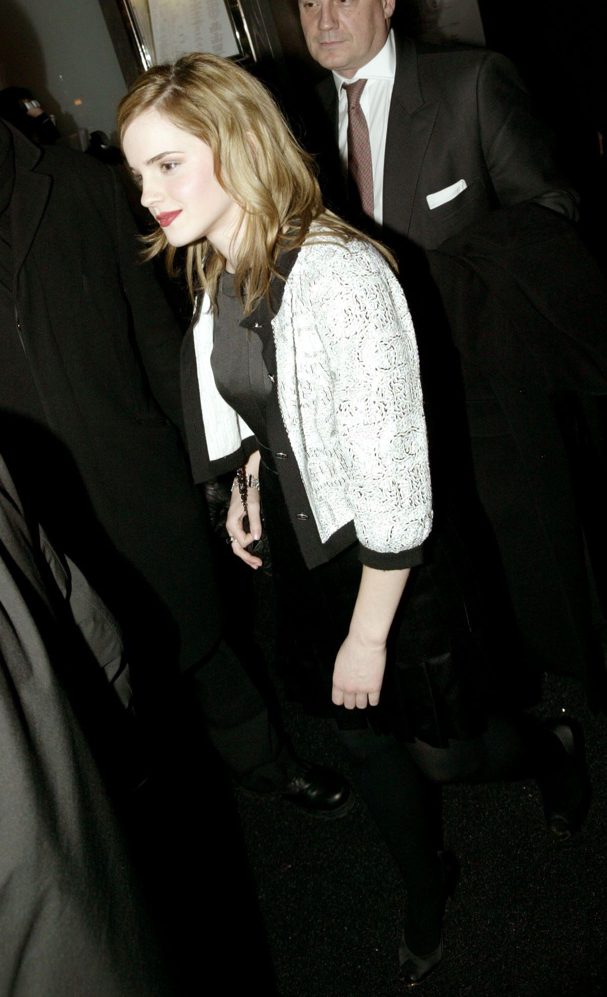 Emma at Chanel Pre-Fall Dinner