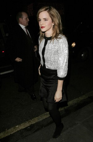 Emma at Chanel Pre-Fall Dinner