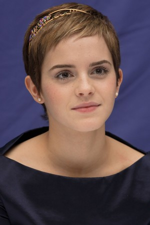 Emma at HP7 Press Conference