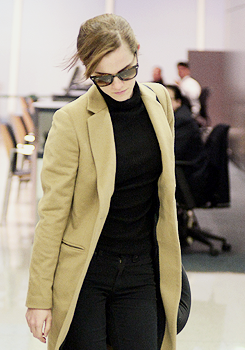 Emma at JFK airport
