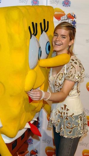 Emma at Nickelodeon Kids Choice Awards