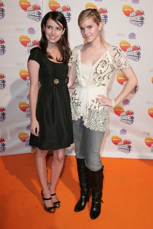 Emma at Nickelodeon Kids Choice Awards