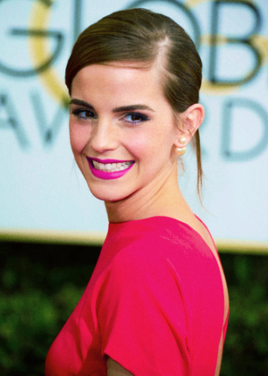 Emma at the Golden Globes