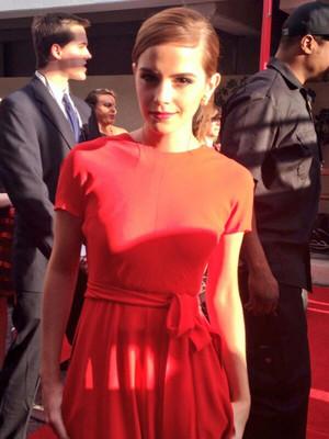 Emma at the Golden Globes