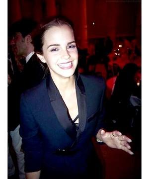 Emma at the Vogue Paris Foundation gala