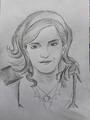 Emma drawing by me.    - emma-watson fan art