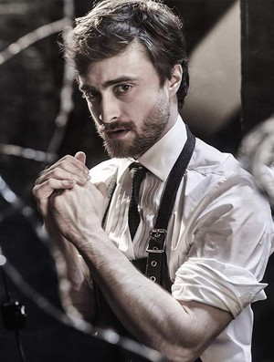 Exclusive: Daniel Radcliffe Photoshoot for 'Playboy' (fb.com/DanielJacobRadcliffeFanClub)