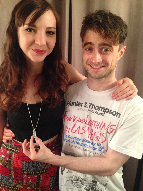 Exclusive:Daniel Radcliffe & Erin Darke At Sandy Binion (fb.com/DanielJacobRadcliffeFanClub)