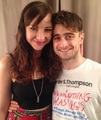 Exclusive:Daniel Radcliffe & Erin Darke At Sandy Binion (fb.com/DanielJacobRadcliffeFanClub)  - daniel-radcliffe photo