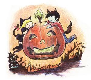 Fiolee Happy Halloween