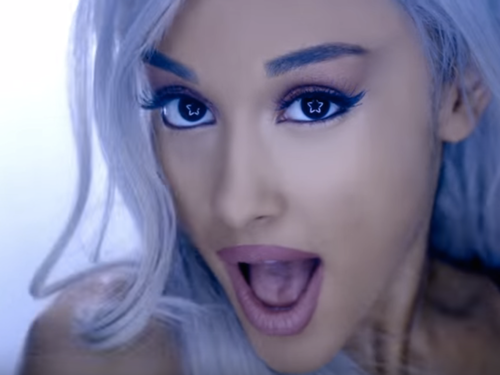 Ariana Grande karatasi la kupamba ukuta probably containing a portrait called Focus