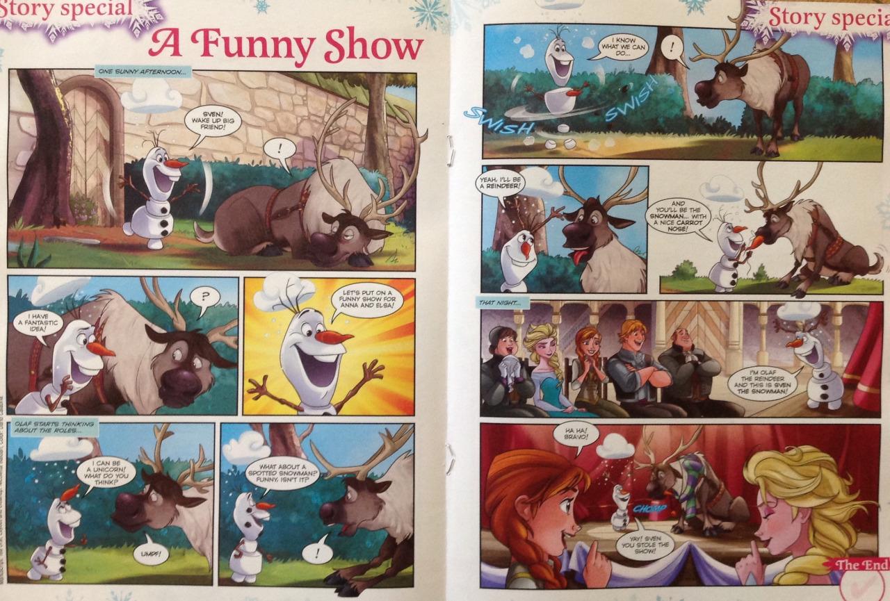 Frozen Comic - A Funny tunjuk