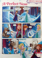 La Reine des Neiges Comic - A Perfect Nose