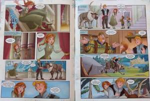 ফ্রোজেন Comic - Where's Olaf
