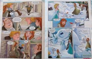 겨울왕국 Comic - Where's Olaf