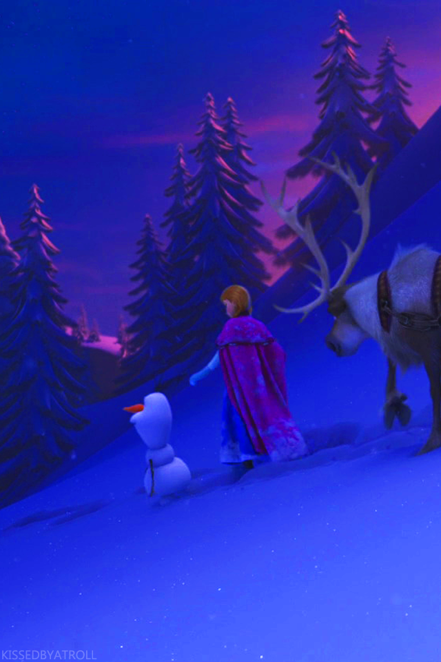 Frozen phone wallpaper - Anna and Kristoff Photo (38994815 ...