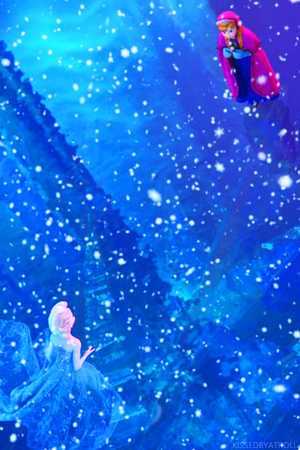 Frozen phone wallpaper