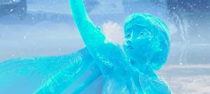 La Reine des Neiges times : Anna is La Reine des Neiges