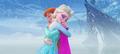 Frozen times : True love's hug - disney-princess photo