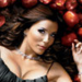 Gabrielle in the apples - desperate-housewives icon