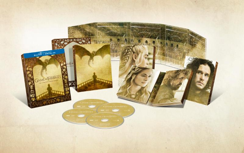 Game of Thrones Season 5 DVD/Blu-ray Box Set