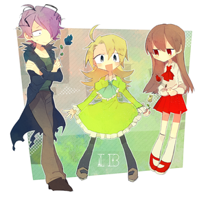 Garry, Mary, and Ib