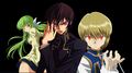 Geass user meets the chain user  - code-geass photo