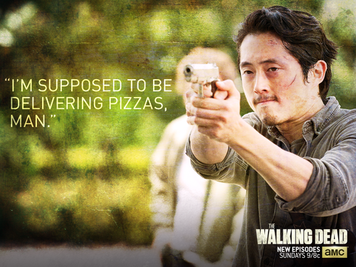 The Walking dead wallpaper titled Glenn Rhee