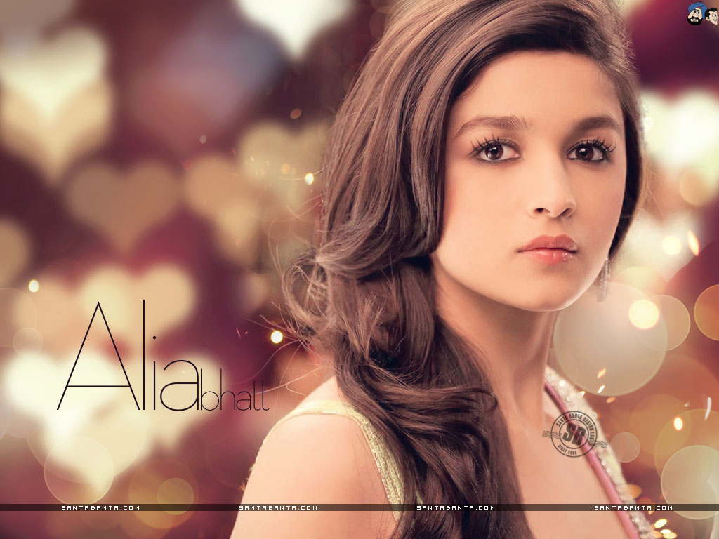 Gorgeous Alia Bhatt Обои