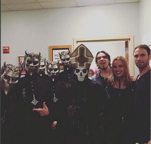 Halestorm at Ghost concierto