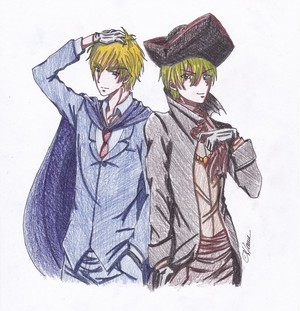 ハロウィン a wizard and a pirate England
