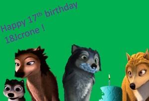 Happy birthday 18jcrone