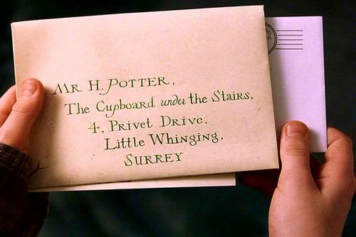 Письмо поздравление с днем рождения от гарри поттера