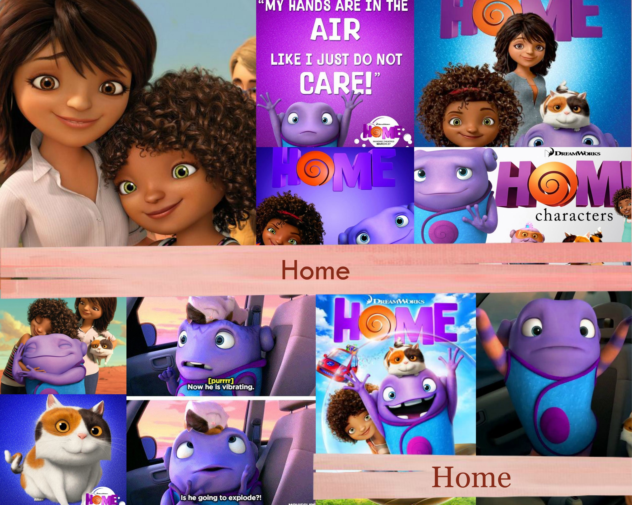 Home a 2015 movie images home collage hd wallpaper and for Wallpaper hd home movie