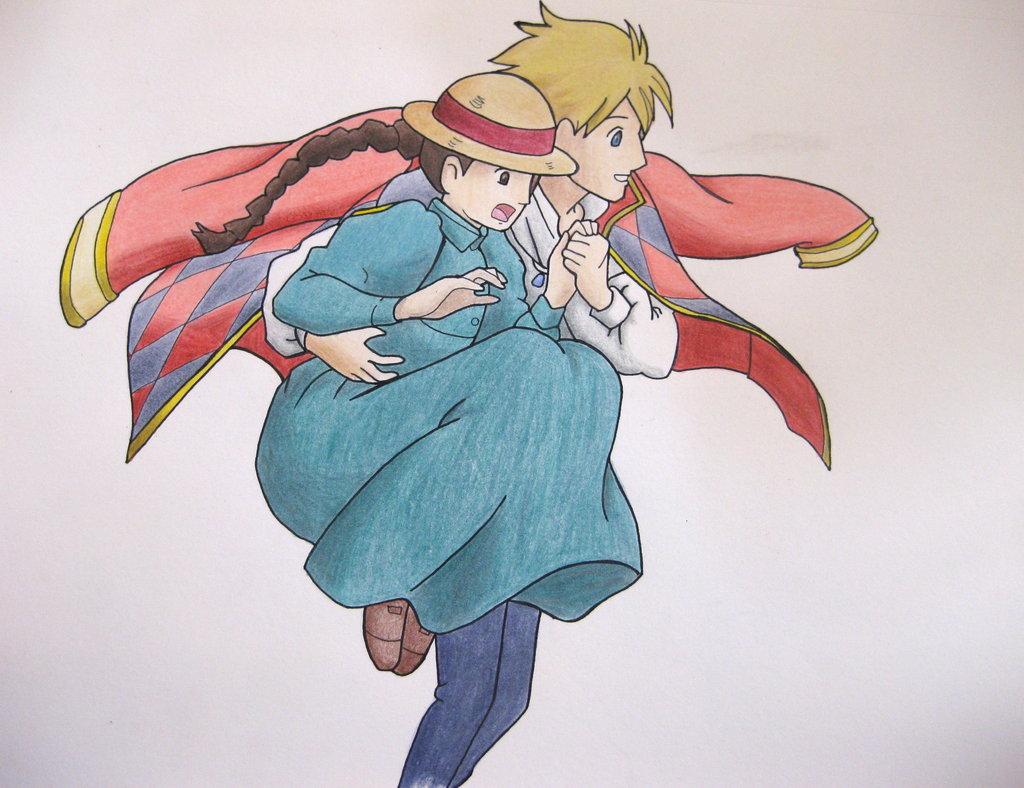 Howl And Sophie Fan Art (38930925)